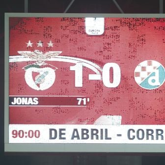Benfica - Dinamo (Foto: Goran Stanzl/PIXSELL)