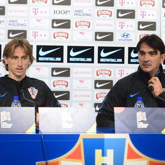 Luka Modrić i Zlatko Dalić (Foto: Marko Prpić/PIXSELL)