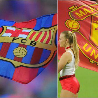 Barcelona - Manchester United (Foto: AFP)