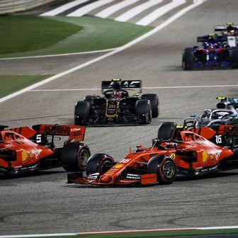 Vettel pretekao Leclerca na startu Velike nagrade Bahreina (Foto: XPB/Press Association/PIXSELL)