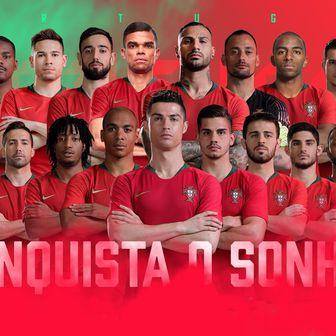 Reprezentacija Portugala (Foto: Twitter)