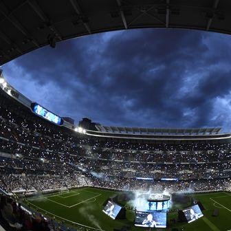 Santiago Bernabeu slavi naslov prvaka Europe (Foto: AFP)