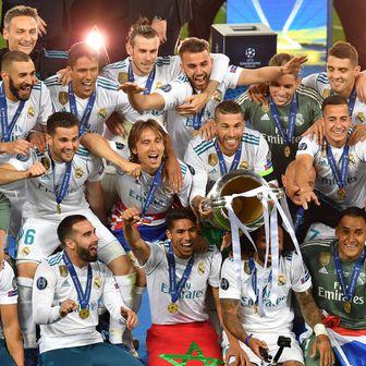 Momčad Reala slavi naslov prvaka Europe (Foto: AFP)