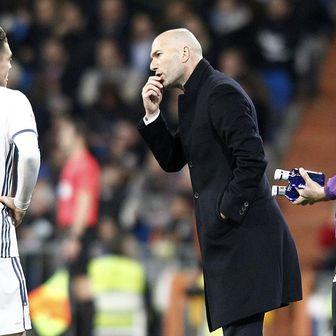 Mateo Kovačić i Zinedine Zidane (Foto: nph/NordPhoto/PIXSELL)