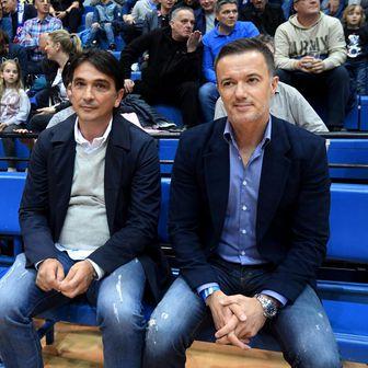 Zlatko Dalić i Joško Jeličić (Foto: Marko Lukunic/PIXSELL)