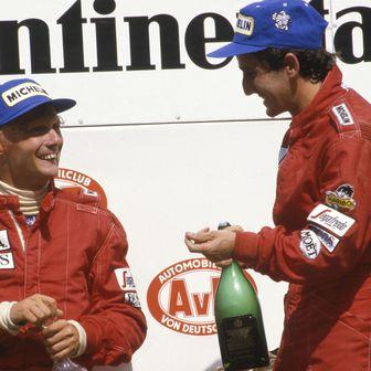 Niki Lauda i Alain Prost (Foto: Sven Simon/DPA/PIXSELL)