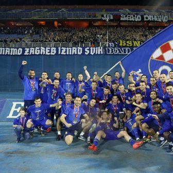 Dinamo slavi naslov prvaka (Photo: Luka Stanzl/PIXSELL)