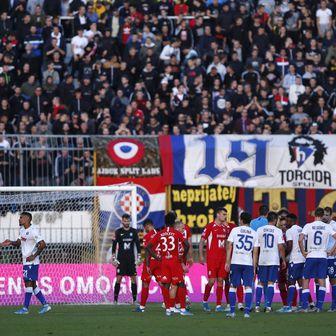 Hajduk - Osijek (Foto: Milan Sabic/PIXSELL)
