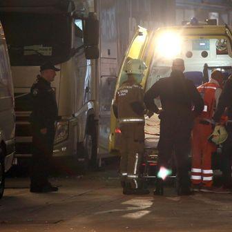 Vatrogasac ozlijeđen od topovskog udara na Poljudu (Foto: Miranda Čikotić/PIXSELL)