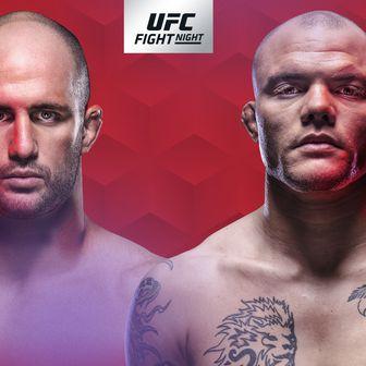 UFC Fight Night Kanada Oezdemir - Smith