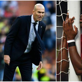 Paul Pogba i Zinedine Zidane (Foto: AFP)