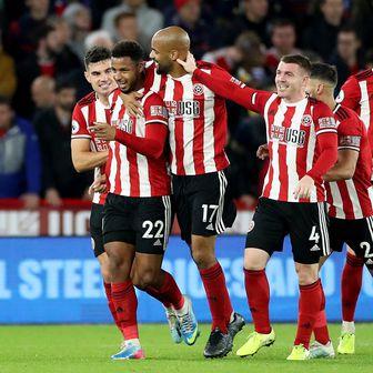 Slavlje igrača Sheffield Uniteda (Foto: Danny Lawson/Press Association/PIXSELL)