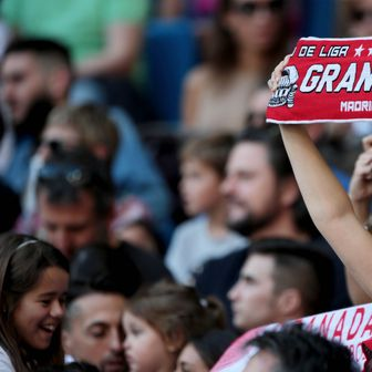 Navijačica Granade (Foto: Juan Carlos Rojas/DPA/PIXSELL)