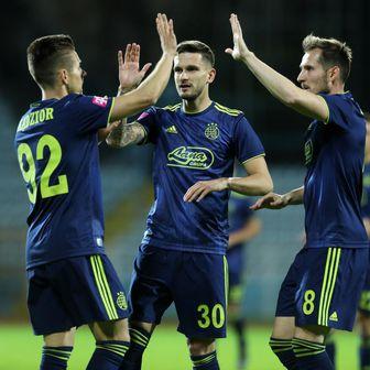 Dinamo slavi (Foto: Nel Pavletic/PIXSELL)