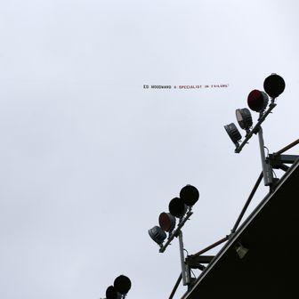 Poruka navijača Manchester Uniteda za Eda Woodwarda (Foto: Dave Thompson/Press Association/PIXSELL)