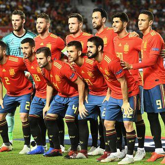 Španjolska reprezentacija (Foto: AFP)