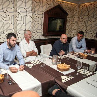 Krešimir Novosel, Igor Dodik, Žarko Paspalj, Željko Vela, Žarko Čabarkapa (Foto: MYD Sports)