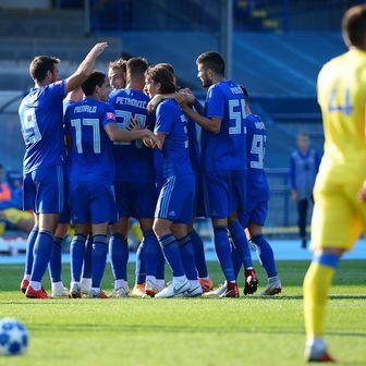 Slavlje igrača Dinama (Foto: Marko Prpić/PIXSELL)