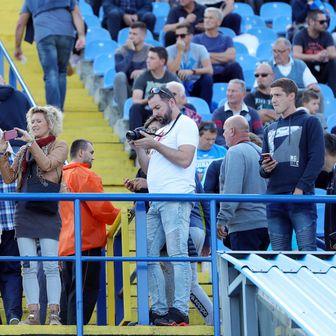 Navijači na Dinamo - Inter Zaprešić (Foto: Sanjin Strukić/PIXSELL)