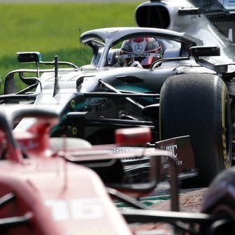 Leclerc i Hamilton (Foto: nph/NordPhoto/PIXSELL)