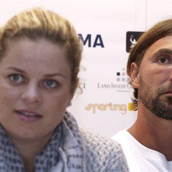 Kim Clijsters i Goran Ivanišević (Foto: AFP)