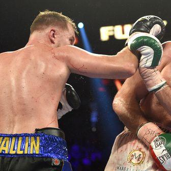 Tyson Fury protiv Otta Wallina (Foto: AFP)