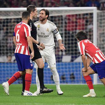 Atletico - Real (Foto: AFP)