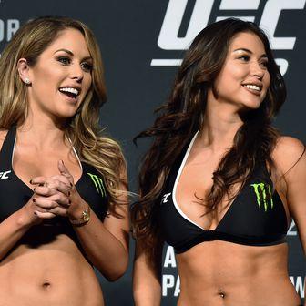 UFC djevojke Britanny Palmer i Arianny Celeste (Foto: AFP)