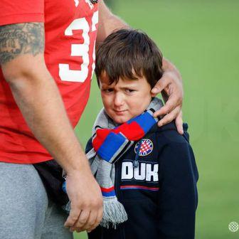 Sandro, navijač Hajduka