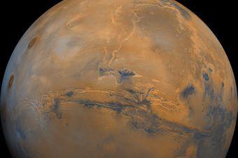 Mars ima najveći kanjon u Sunčevom sustavu