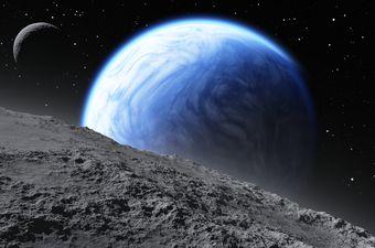 Egzoplanet, ilustracija