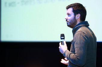 Mate Rimac održao predavanje (Foto: Borna Filic/PIXSELL)