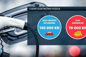 Cijene električnih vozila