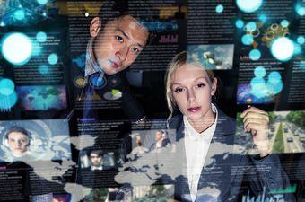 Poslovnjaci na virtualnom sastanku (Ilustracija: Getty)