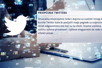 Priopćenje iz Twittera