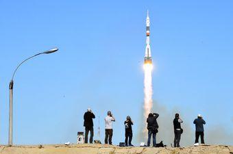 Soyuz (Foto: AFP)