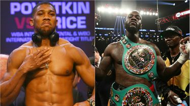 Anthony Joshua, Deontay Wilder