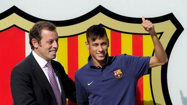Sandro Rosell i Neymar