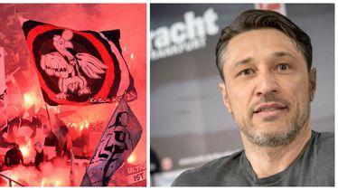 Navijači Eintrachta iz Frankfurta i Niko Kovač