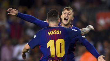 Gerard Deulofeu u dresu Barcelone