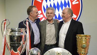 Karl-Heinz Rummenigge, Jupp Heynckes i Uli Hoeness