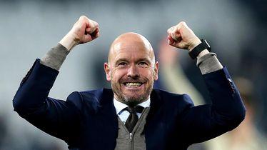 Ajaxov trener Erik ten Hag