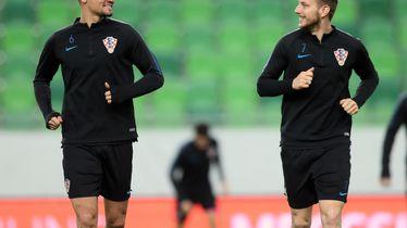 Dejan Lovren i Ivan Rakitić