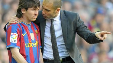Lionel Messi i Pep Guardiola