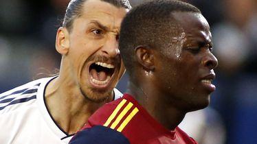 Ibrahimović urla u lice braniča Real Salt Lakea