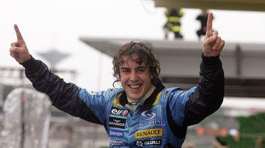Fernando Alonso 2005. je bio svjetski prvak s Renaultom