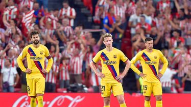 Razočarani igrači Barcelone