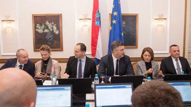 Andrej Plenković na sjednici Vlade u Osijeku (Foto: Dubravka Petric/PIXSELL)