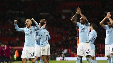 Slavlje igrača Manchester Cityja