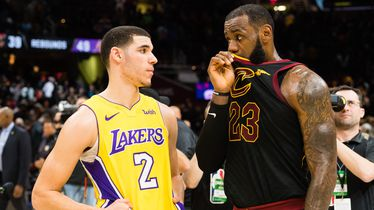 Lonzo Ball i LeBron James